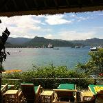 Padang Bai - the view from the Hideaway