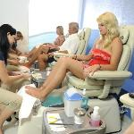 OUR PEDICURES AREA