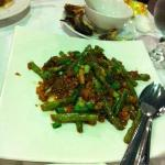 French bean with seafood from Kelong Restaurant (MUST TRY)