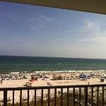 Gulf Front view from Condo 402