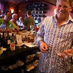 Winemaker Chuck Carlson loves doing the dishes