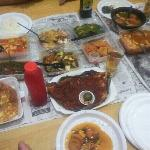 just look at the sambal stingray which i pack home!!!