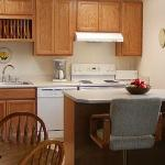 HarborView Kitchen with island.