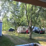 camping ombragé