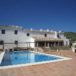 beautiful cortijo and pool