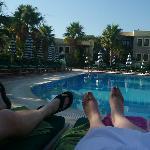 Our feet haha
