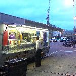Hassan's Kebab van, Broad Street, Oxford