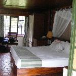 Our room at Keekorok Lodge