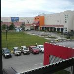 View Of The Shopping Mall From The Window