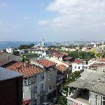 Vista panoramica frontale terrazza hotel