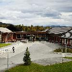 The rehabilitation centre is situated in the unique cultural landscape on the edge of town.