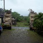 The main entrance gate