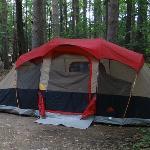Our STOLEN Tent