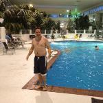 indoor jungle pool