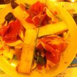 Une salade composee pas la Goulue