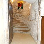 Escalier vu d'en bas