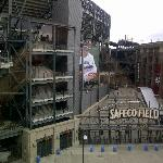Veiw of Safeco from our room