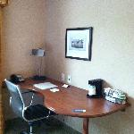 Desk in Standard Double Queen Room