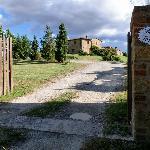 Einfahrt Tor Terrapille