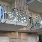 Balconi al primo piano.
