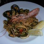 Paella, an Easter special at the hotel