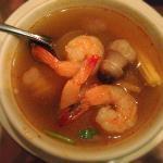 Tom Yung Goong soup...