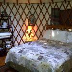 Inside Yurt #4