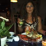 Gustosissima cena a base di pesce freschissimo!