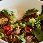 Indonesian Lamb Curry and Rice Bowl