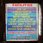 Facilities della guesthouse