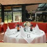 Tisch am italienischen Abend