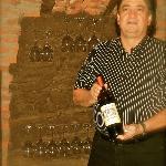 Carlos Suarez. The owner of the authentic italian restaurant