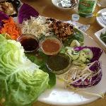 Thai lettuce wraps @ Naples, FL Cheesecake Factory