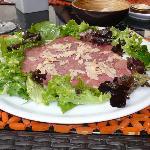 Gazpacho Steak Starter