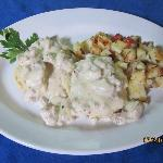 Southern Style Biscuits and Gravy with Homefries