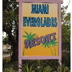 Entrance to Miami Everglades Resort