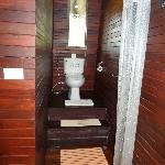 Douche et WC bungalow De Luxe