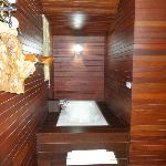 Baignoire bungalow De Luxe