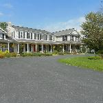 The front of the B&B