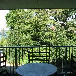 Balcony and view from room 2208
