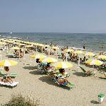La spiaggia di Marina Romea