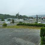 Blick vom Hotel in Richtung Hafen