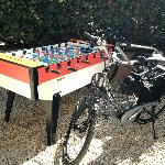 Table Soccer, bikes