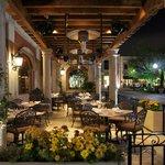 Patio Dining at Las Alamedas
