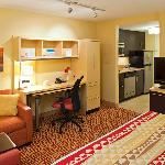 Studio King Suite includes Full Kitchen, Work Desk, and Pull Out Couch
