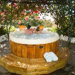 hot tub soaking