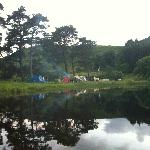 Camping beside the Loch @ Tibbies