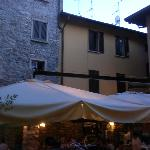 L'antico pozzo is in the center of town