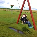the swing. and my son