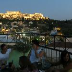 The Acropolis from the Rooftop Bar at Athenstyle